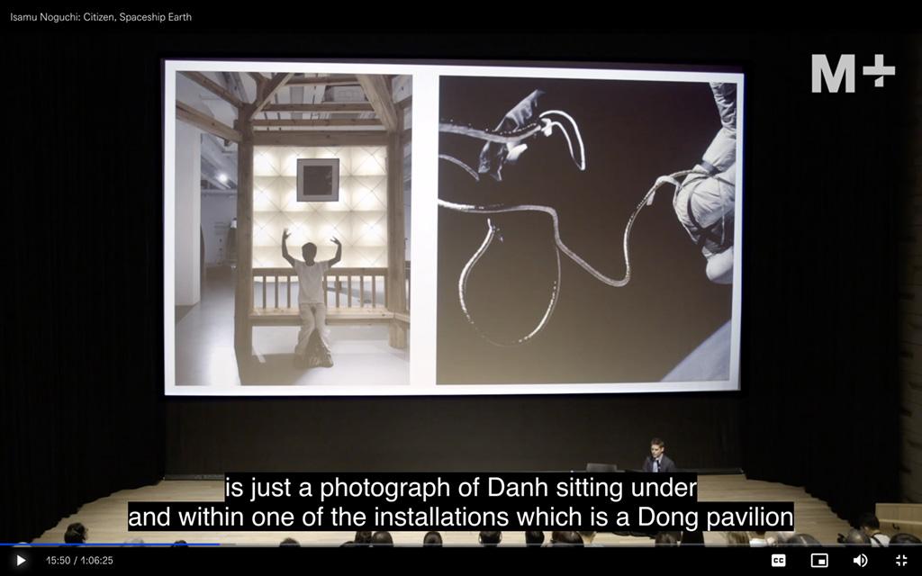 Isamu Noguchi- Citizen, Spaceship Earth Still