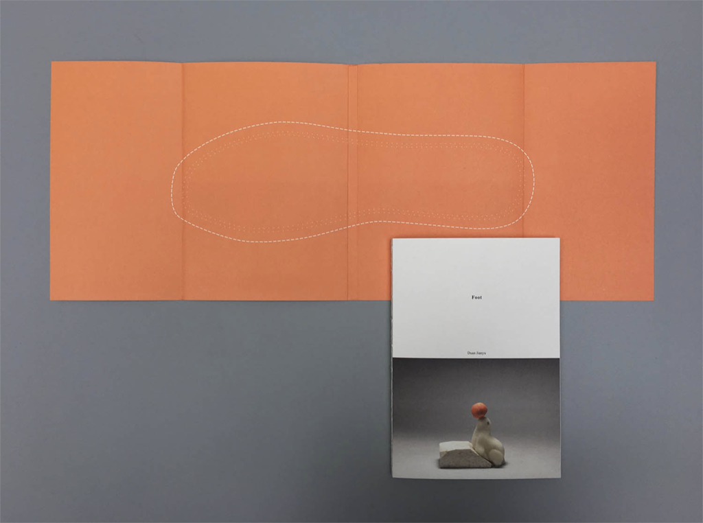 段建宇:《脚》,艺术家独立出版,2015。