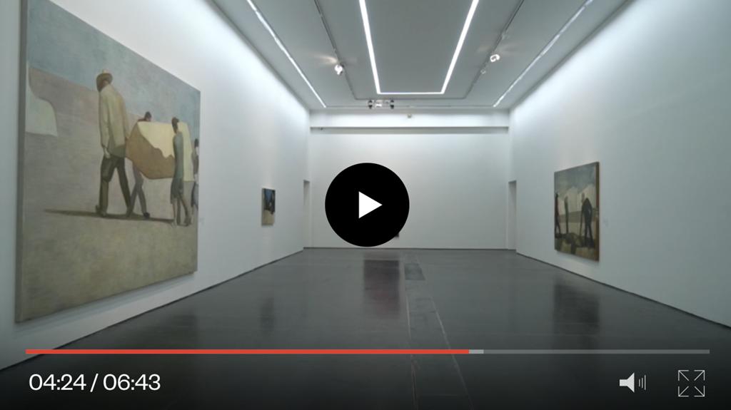 """展览""""王音:礼物""""预告片,中文,中英文字幕,2016年。"""