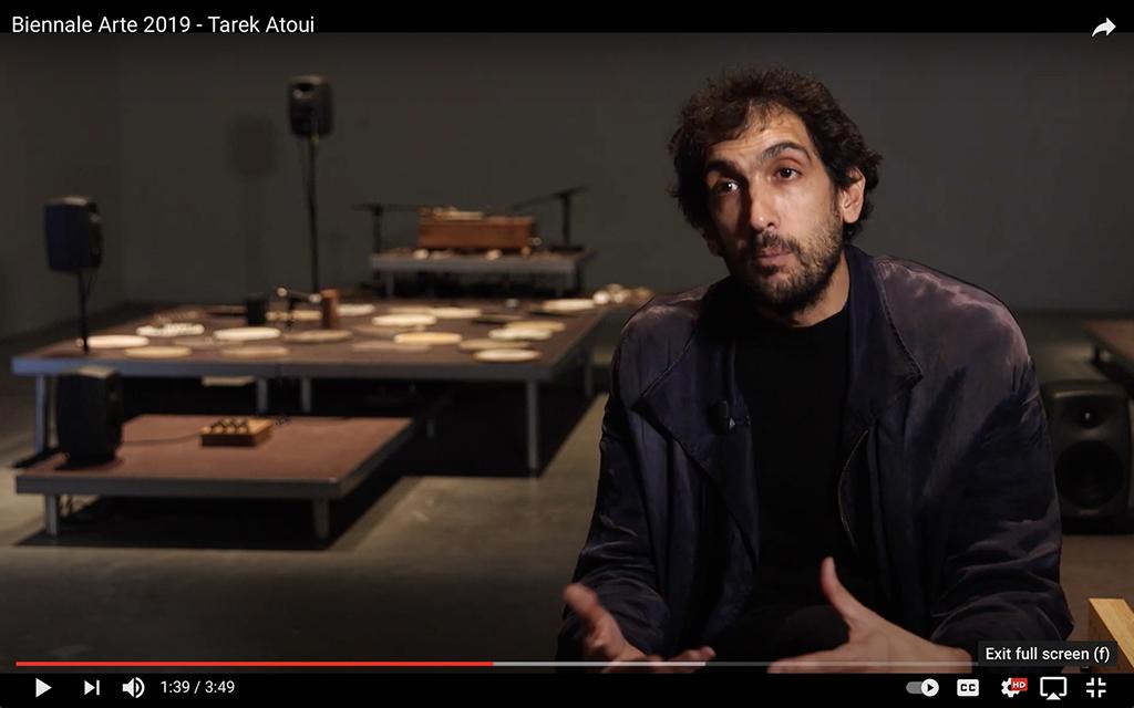 Biennnale Arte 2019 - Tarek Atoui