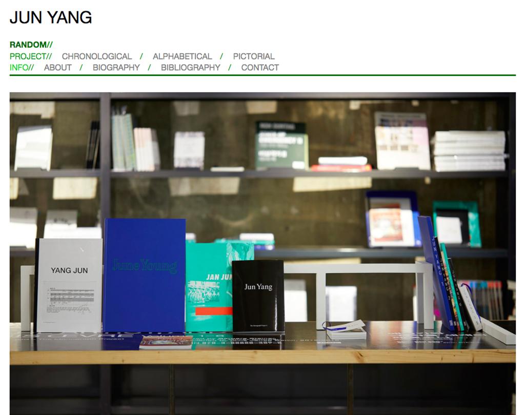 Jun Yang website