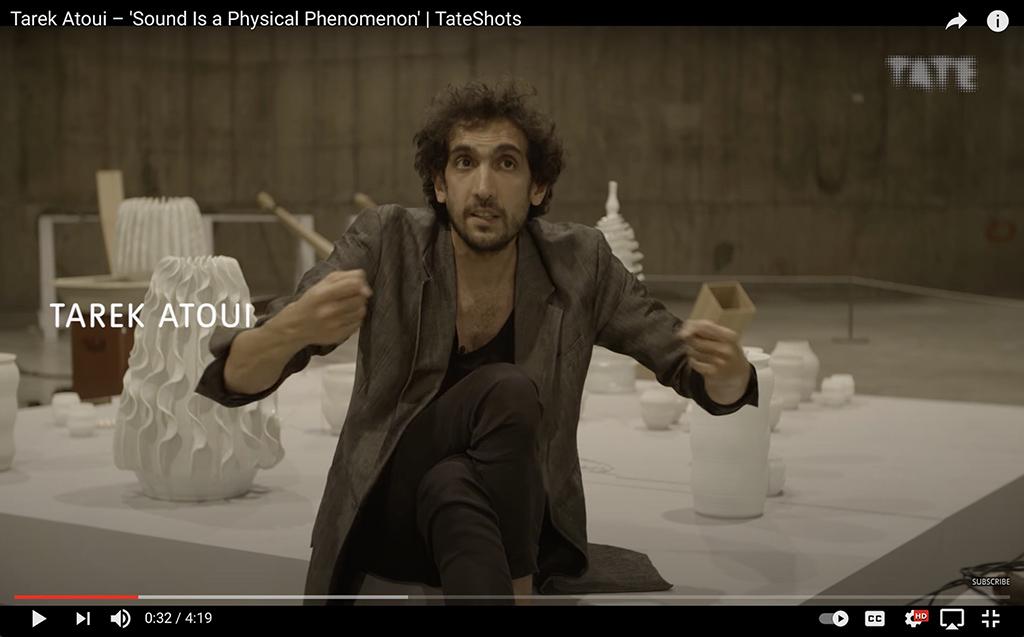 Tarek Atoui – _Sound Is a Physical Phenomenon_ _ TateShots, 2016