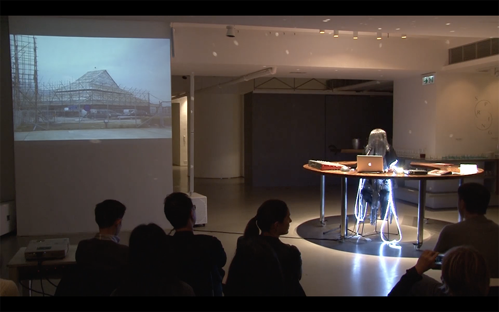 Blast off into the Sinosphere, Lecture Performance, 2014
