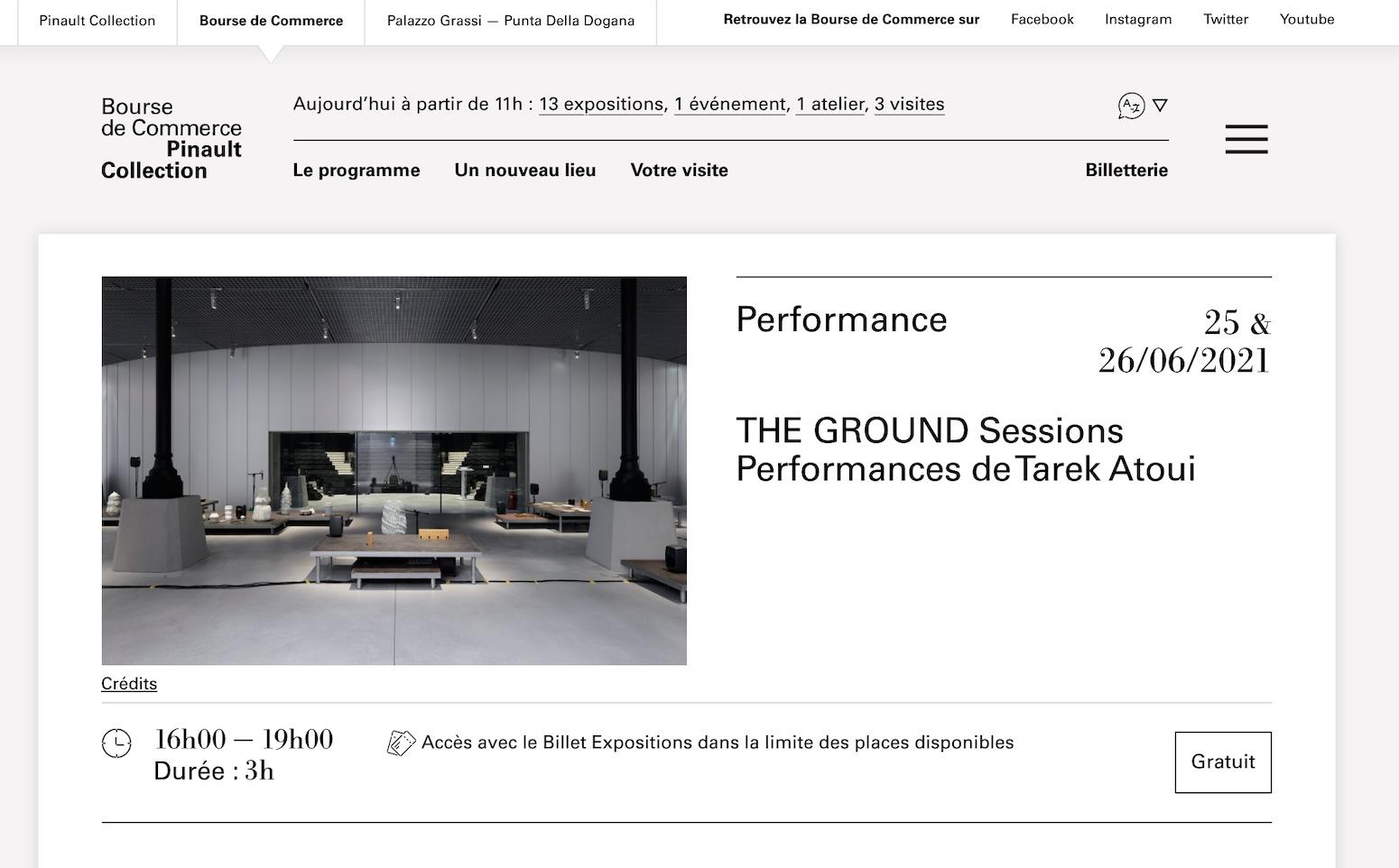 THE GROUND Sessions Paris