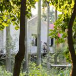 Mirrored Gardens, July 2017. Photo: Zeng Han